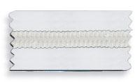 CHIUSURE LAMPO SPIRALI NYLON PVC TRASPARENTE